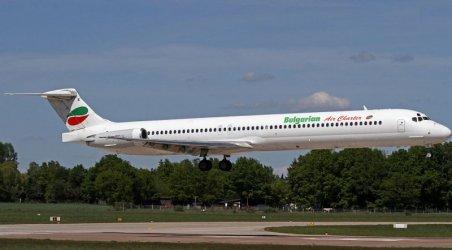 Български самолет кацна аварийно в Италия заради проблем в двигателя