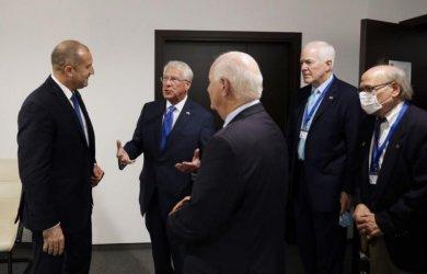 Американски конгресмени призоваха Радев да се бори с корупцията