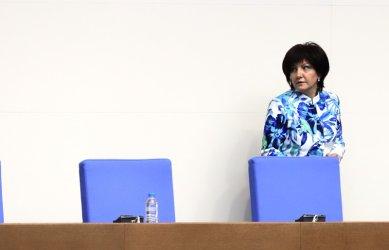 Цвета Караянчева се завръща в парламента като сътрудник на ГЕРБ