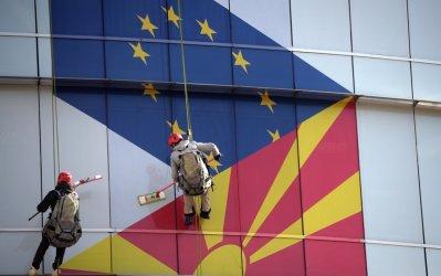 """""""Демократична България""""  призова да се търси начин Скопие и София да са заедно в ЕС"""