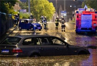 Проливни дъждове засегнаха Северна Италия