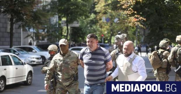 Силите за сигурност в Киев задържаха днес мъжа, който проникна