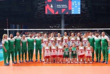 Волейболистките ни победиха Гърция с 3:0 на старта на европейското първенство