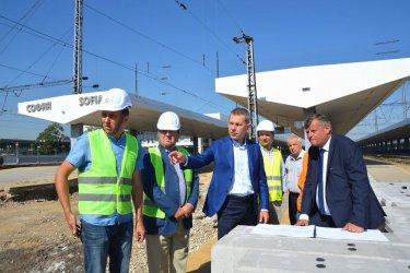Централната жп гара в София става интермодален терминал до 2024 г.