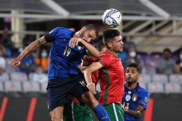 България взе точка от Италия в световна квалификация по футбол