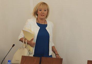 Мая Манолова поиска оставката на енергийния министър