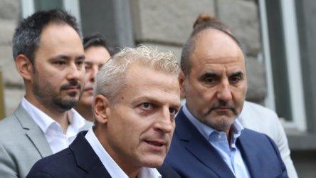 Цветан Цветанов и Петър Москов отиват на избори в коалиция НОД