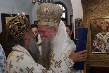 Протести в Черна Гора при ръкополагането на епископ от Сръбската православна църква