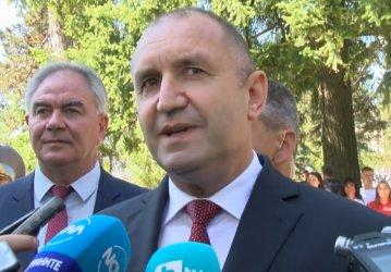 Радев призова Бойко Борисов да се кандидатира за президент