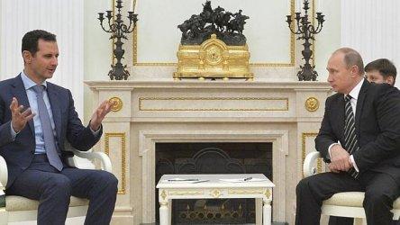 Владимир Путин и Башар Асад се срещнаха в Москва