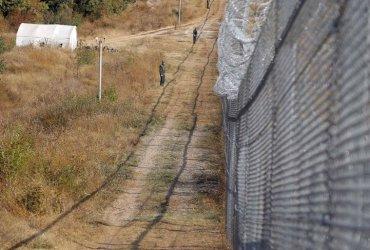 МВР направило филм, за да се види разрушената гранична ограда
