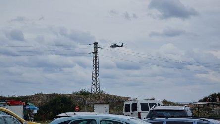 Военен хеликоптер издирва изчезнал мъж в морето край Каварна