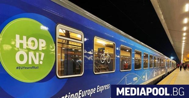 София посрещна влака експрес