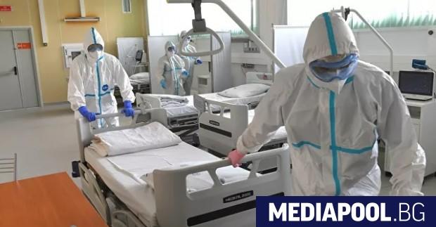 Русия регистрира днес нов рекорден брой починали от Covid-19 за