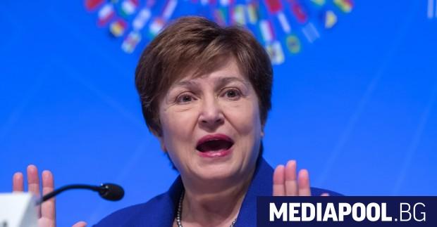 Управляващият директор на Международния валутен фонд Кристалина Георгиева отхвърли твърденията