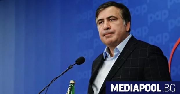 Бившият президент в изгнание Михаил Саакашвили заяви, че се е