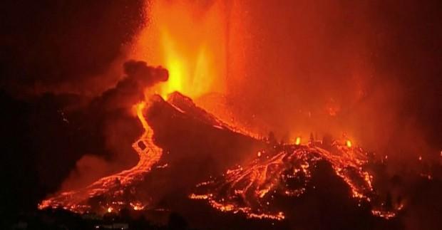 Испанското правителство обяви днес за бедствена зона остров Ла Палма,