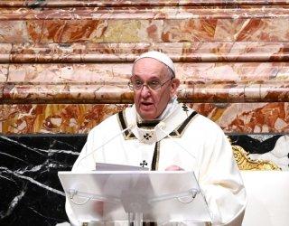 Папата се зарече да продължава да защитава бедните и онеправданите