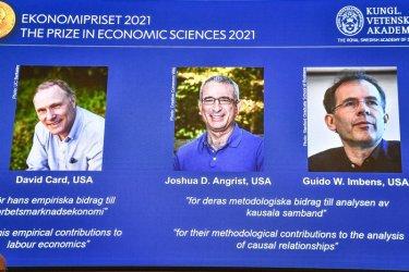 Трима икономисти, работещи в САЩ, си поделят Нобеловата награда за икономика