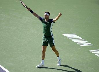 Григор Димитров победи Медведев и е на четвъртфинал в Индиън Уелс