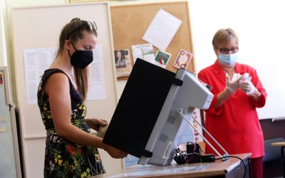 На 14 ноември ще се гласува на една машина с една смарт карта