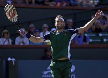 След нов обрат Григор Димитров е на полуфинал в Индиън-Уелс