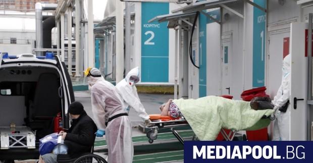 Общият брой на заразените с коронавирус в Русия надхвърли 8