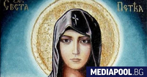 Българската православна църква почита днес паметта на преподобната Св. Параскева