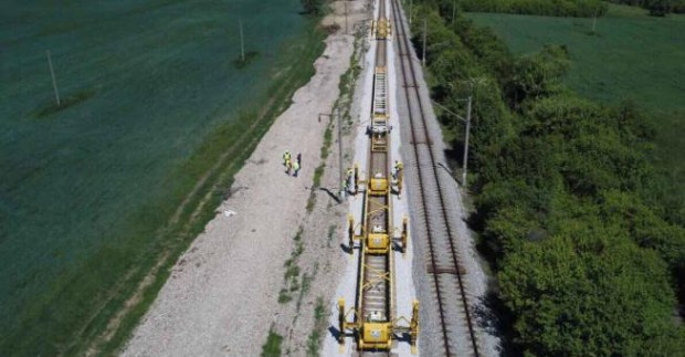 Турция строи високоскоростна железопътна линия до границата с България. Близо