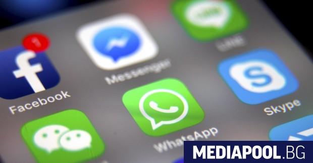 Социалните мрежи Фейсбук (Facebook), Инстаграм (Instagram), УатсАп (WhatsApp) и чат