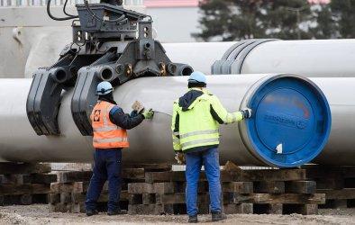 """Първата линия на """"Северен поток-2"""" вече е запълнена с технически газ"""
