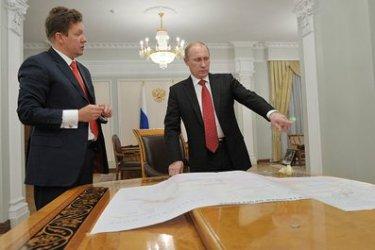 Владимир Путин с шефа на