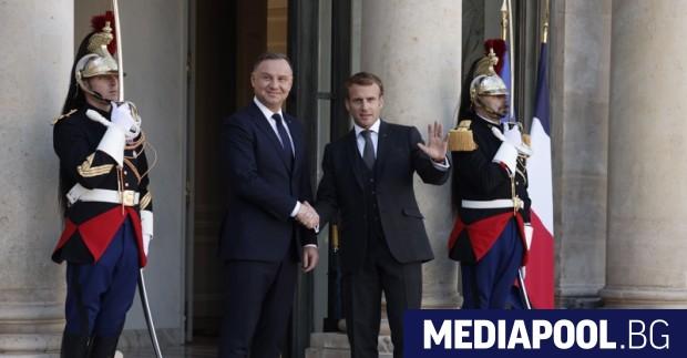 Президентът на Франция Еманюел Макрон се стреми към